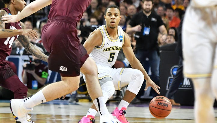 Jaaron Simmons gives Michigan 'big-time' jolt in win over Montana
