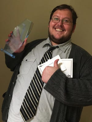 Local comedian Nick Josten won a Forte award at the first annual awards gala at Grand Sierra Resort in Reno.