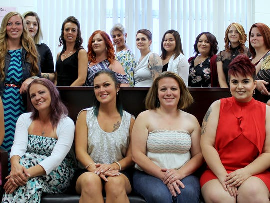 Students in the GST BOCES adult cosmetology class recently