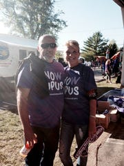 Donna Williams and her husband Todd at the Lupus Walk in Nashville in 2015. Donna Williams was diagnosed with lupus at 18, and lost her mother and her sister to the disease.