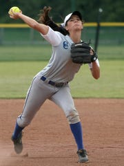 As a junior, Baylee Smith batted .574 with 12 doubles,