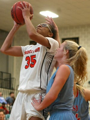 Cherelle Jones (35) and the Middleton Lady Tigers are one game behind TCA in the 15-A standings, and they have won five straight.