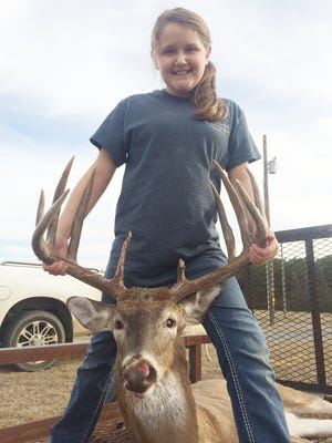 The story of Kaylee Rogers' 169-inch, Friday the 13th buck was almost a tale of the one that got away.