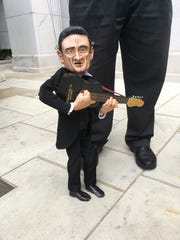 "The Johnny Cash puppet is one of the ""String City"""