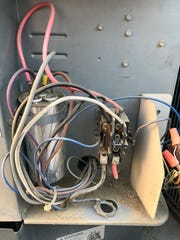 Dirty Electrical Compartment.