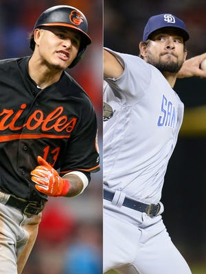 Both Manny Machado and Brad Hand could be dealt before the trade deadline.