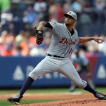 Detroit Tigers starting pitcher David Price will pitch on Opening Day