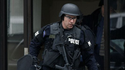 An Indianapolis SWAT officer.