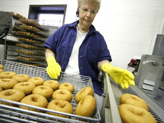 Doughnuts from Parmenter's Northville Cider Mill.