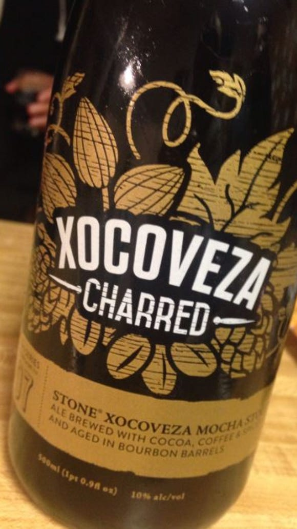 """Stone's """"Xocoveza Charred,"""" one of my personal faves."""
