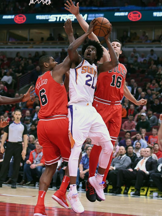 NBA: Phoenix Suns at Chicago Bulls