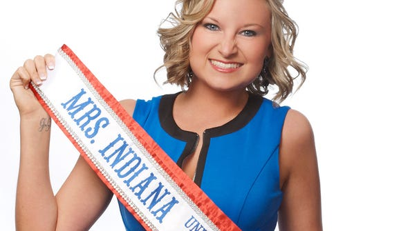 Breyanna Shirley, 25, a Zionsville real estate agent and a Greenwood High School graduate, is Mrs. Indiana 2014. Photo provided by Breyanna Shirley.