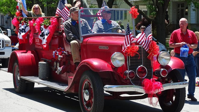 The Walleye Festival Grande Parade will be Saturday at 1 p.m.