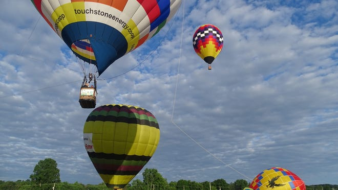 Coshocton Hot Air Balloon Festival will have balloon launches, tethered balloon rides and more Thursday to Saturday at the Coshocton County Fairgrounds. More than 20 balloons are set to participate in flights and competition.