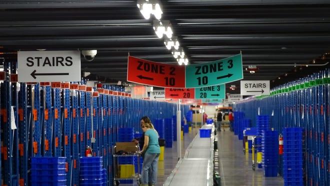Fanatics Inc. in Frazeysburg is hiring 1,500 temporary employees to help meet the demand for football season.