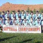 Blue Diamonds softball team