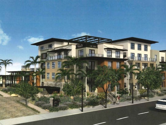 WaterView Scottsdale includes four-story condo or apartment