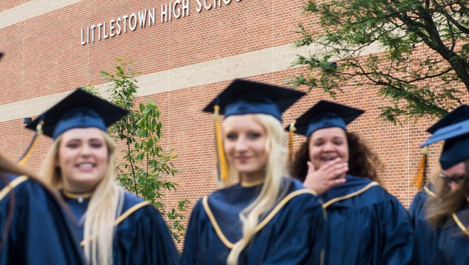 Littlestown Senior High School graduation ceremony Friday, June 8, 2018.