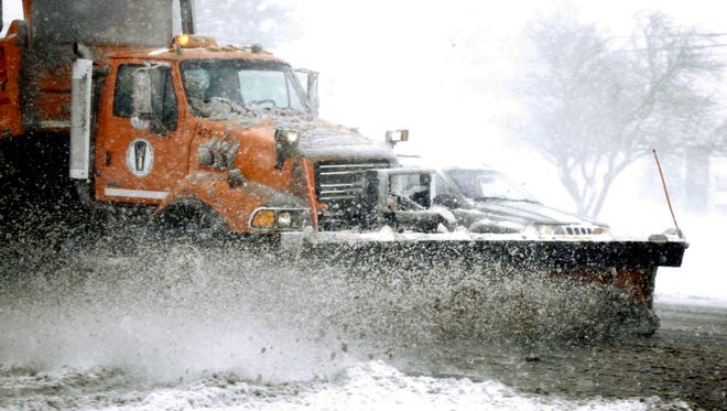 Might you see snow plows on the street soon? Wayne County called in workers Sunday night to assess road conditions ahead of a larger snowfall expected Monday night.