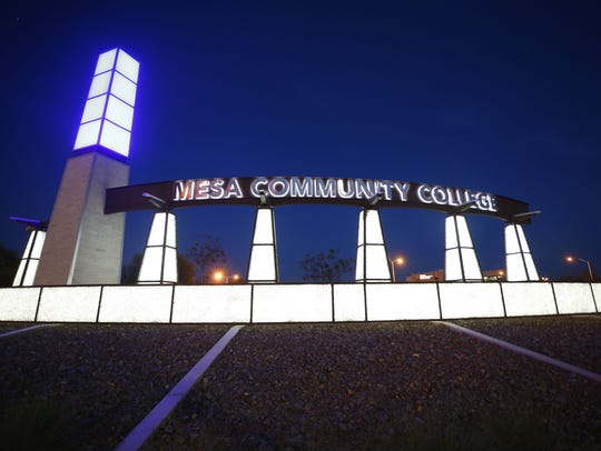 Mesa Community College is part of the Maricopa County Community College District. A student will join the district's governing board this summer.