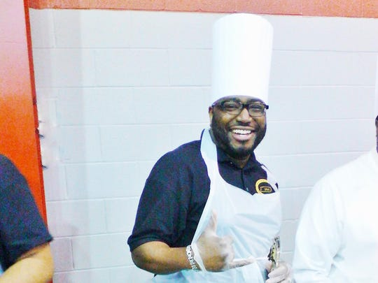 Alpha Chef Phillip Stewart Jr. participated in the inaugural The Brothers Who Cook event in 2015.