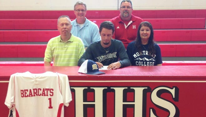 Hendersonville senior Jessie Gossett has signed to play college baseball for Montreat.