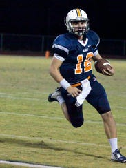 Quarterback Miller Armstrong and Blackman plays Dobyns-Bennett
