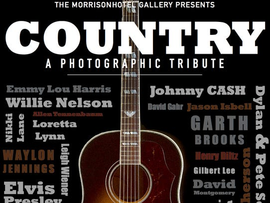 The invite poster for the COUNTRY - A Photographic