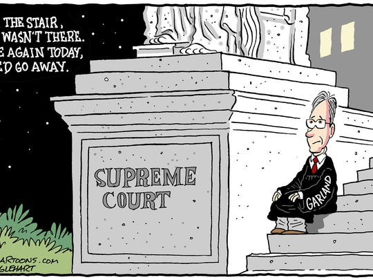 Merrick Garland in the wings