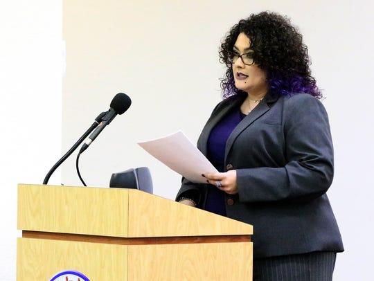 Georgina Perez, West Texas representative for the State Board of Education
