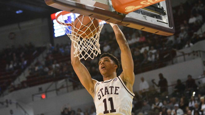 Mississippi State freshman Quinndary Weatherspoon leads the team in scoring during SEC play.