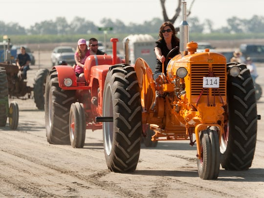 California Antique Farm Equipment Show at the International