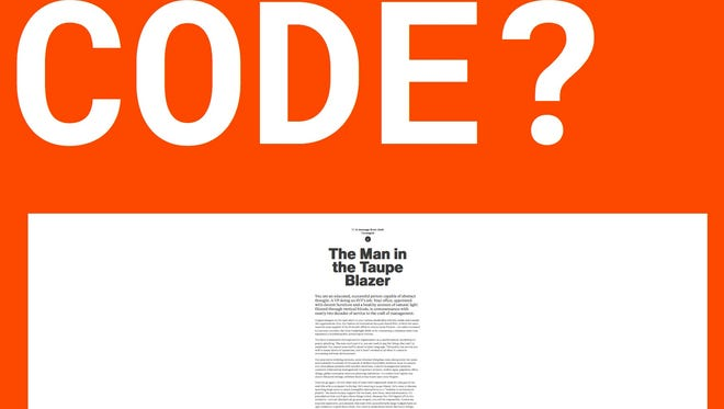 A screenshot of the Code: An Essay 