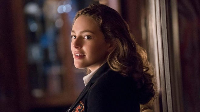 "Danielle Rose Russell as Hope in CW's ""Legacies,"" a new spin-off of ""The Vampire Diiaries"" and ""The Originals."""