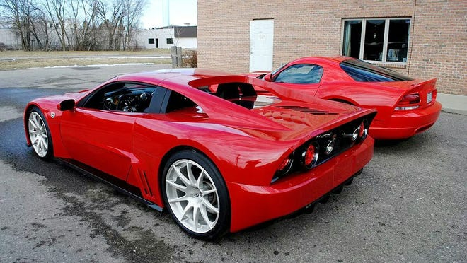 """The Falcon F7, built by Falcon Motorsports in Holly, will be featured on the Science channel's """"How It's Made"""" television show Thursday."""