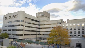 Saint Mary's Regional Medical Center in downtown Reno.