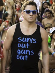 "Channing Tatum in a scene from ""22 Jump Street."" The"