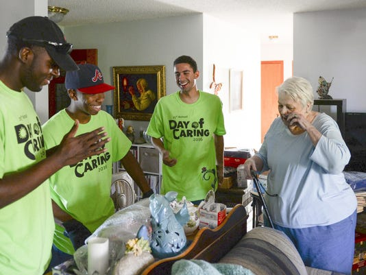 Day of Caring 1