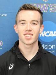Alex Egbert finished 13th at the WIAC Championships