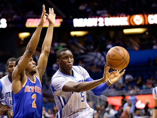 Knicks Magic Basketball