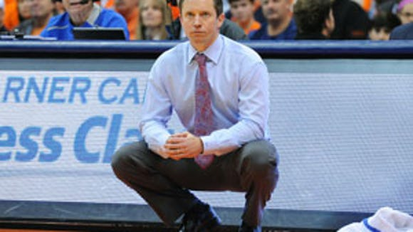 Louisiana Tech coach Michael White was hired by Florida to coach Florida's men's basketball team in the post-Billy Donovan era.