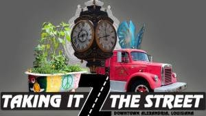A tour of works of art will be featured Saturday at the Taking It 2 The Street event at 10 a.m. Saturday.