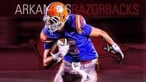 Madison Central TE Grayson Gunter committed to Arkansas
