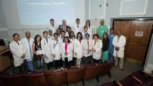 2015 Ellen M. Cosgrove, M.D., Housestaff Research Awards presentation at Monmouth Medical Center