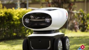 Domino's Australia has developed a prototype model for a self-driving robot that can deliver hot food and cold drinks right to your door.