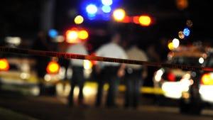 Stock photo of a crime scene