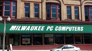 Milwaukee PC Computers in downtown Manitowoc is now closed.