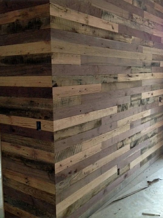 Wood gets new life with reclaimed lumber for Local reclaimed wood
