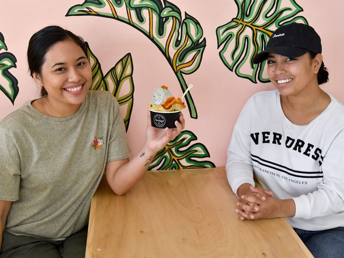 Owners Annisa Lujan, left, and Mariah Borja make all