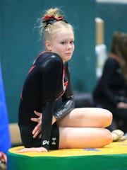 Canton senior Jana Hilditch strikes a pensive pose during a recent tournament.